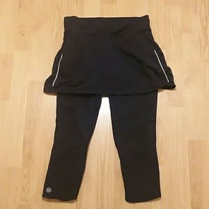Athleta leggings and skirt